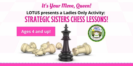 Girls Online Chess Course - 8 wks (It's Your Move, Queen!) tickets