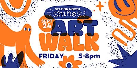 Station North Shines: September 24 Art Walk tickets