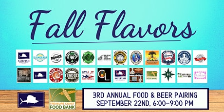 Fall Flavors: Food & Beer Pairing tickets