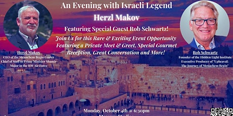 An Evening with Israeli Legend Herzl Makov: IDF Air Force Major & CEO tickets
