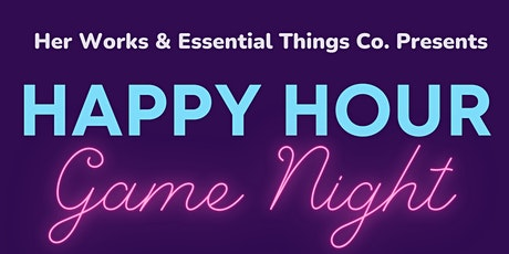 Happy Hour Game Night tickets