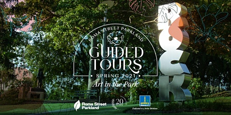 Guided Tour - Art in the Park tickets