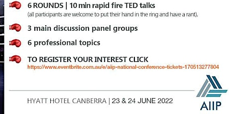 AIIP National Conference 2022 (Registration of Interest) tickets