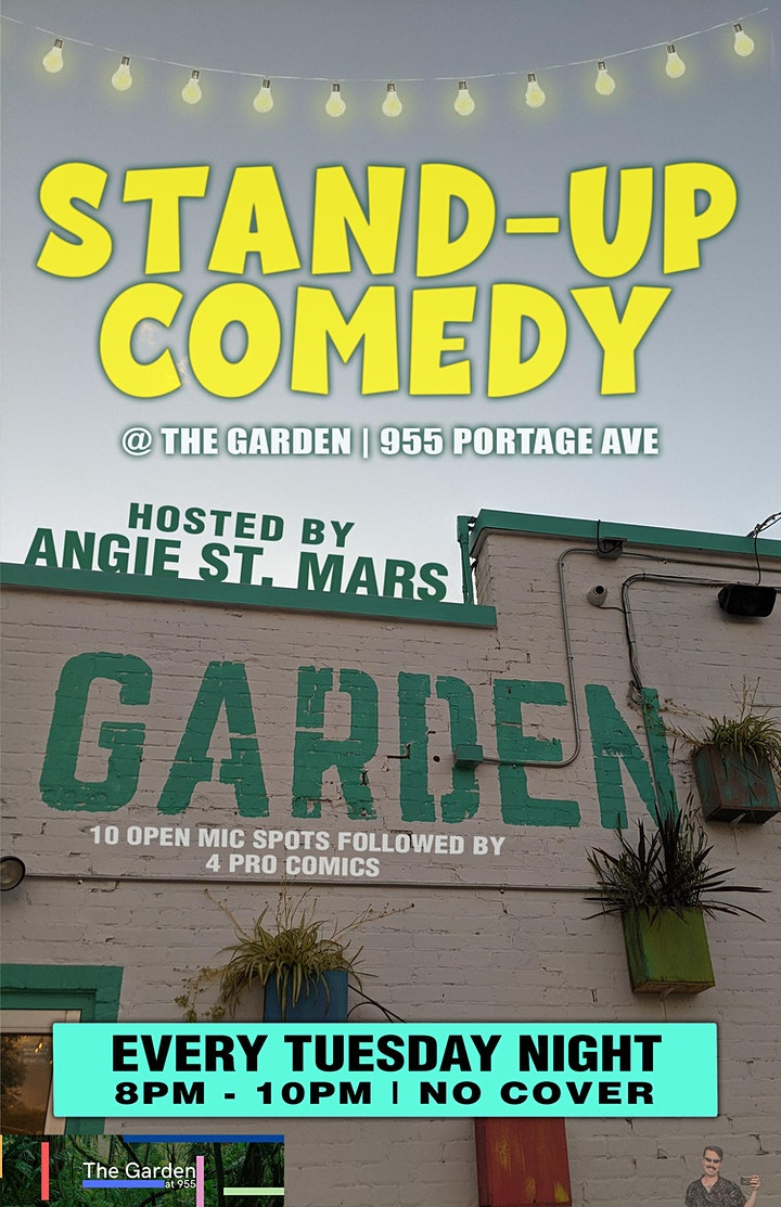 Stand-up at The Garden (955 Portage Ave) image