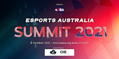 Esports Australia Summit 2021 tickets