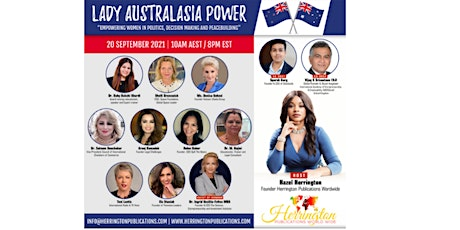 LADY AUSTRALASIA POWER GlOBAL BUSINESS CONFERENCE tickets