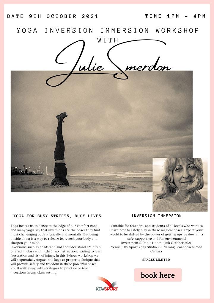 Inversion / Headstand workshop with Julie Smerdon image