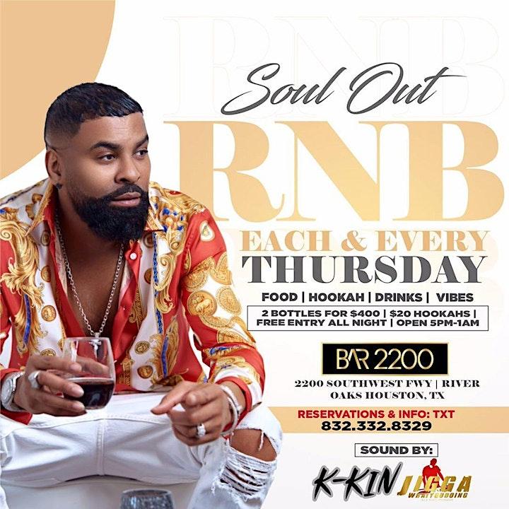 R&B Thursday Vibes @ Bar2200 | Food |Happy Hour | Hookah | Free Entry image