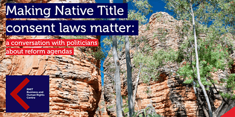Making Native Title consent laws matter tickets