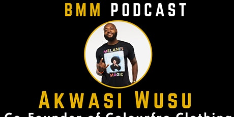 BMM PODCAST - How to start a e-commerce clothing company tickets