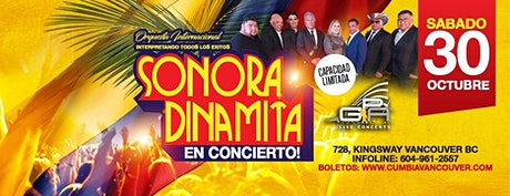 La Orquesta Internacional  Sonora Dinamita tickets