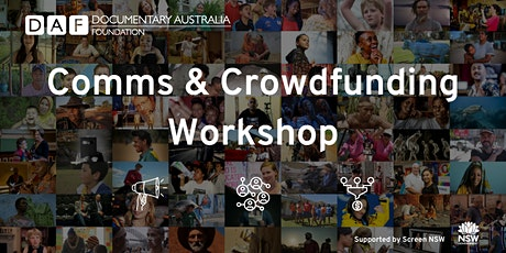 Comms & Crowdfunding  Workshop tickets