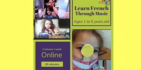 Online French Classes for Kids! tickets