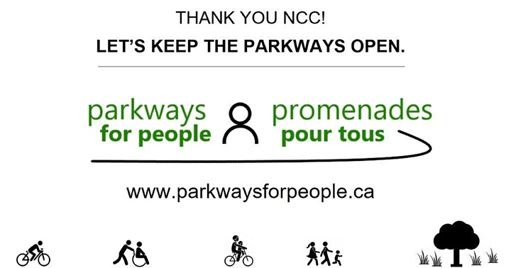 Ride Your Support for Open NCC Parkways image