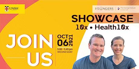 10x and Health 10x Showcase tickets