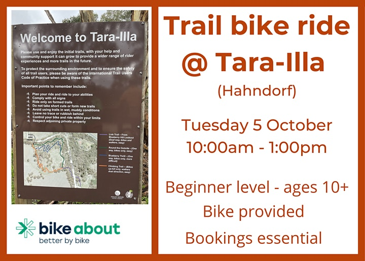 Trail Ride @ Tara Illa (Hahndorf) image