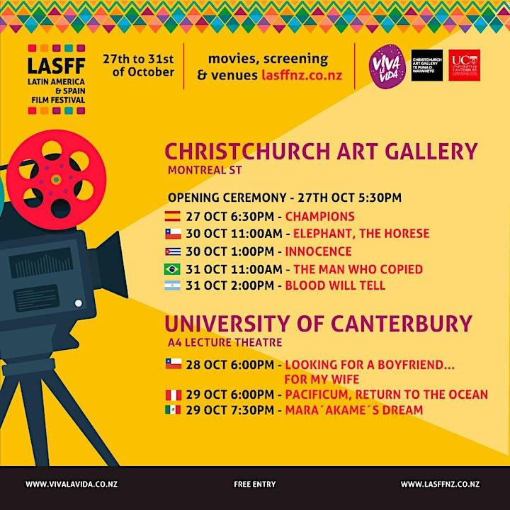 Latin America and Spain Film Festival - Christchurch 2021 image