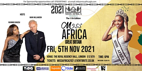 Miss Africa GB Pageant 2021 Grand Finale tickets
