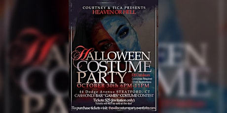 Heaven or Hell Halloween Costume Party tickets
