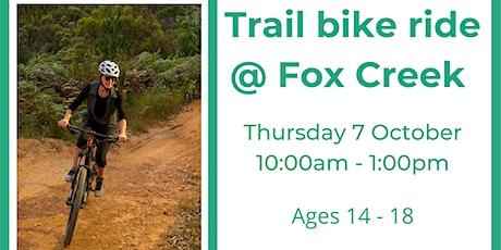 Fox Creek Trail Ride tickets