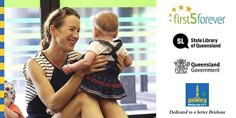 First 5 Forever babies, books and rymes - Carina Library tickets