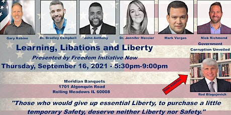 Freedom Initiative NOW- Learning, Libations and Liberty tickets