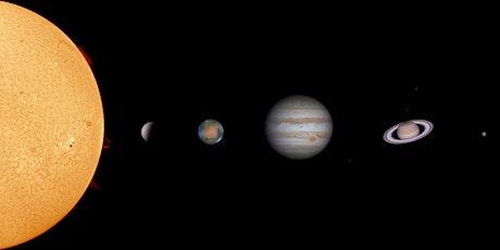 Virtual Stargazing - The Solar System tickets