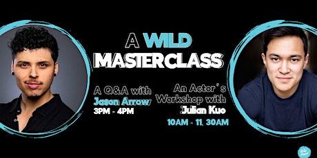 A Wild Masterclass with Jason Arrow and Julian Kuo tickets