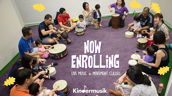 THE BEAT GROWS ON WITH KINDERMUSIK! ZOOM ONLINE PREVIEW CLASSES image