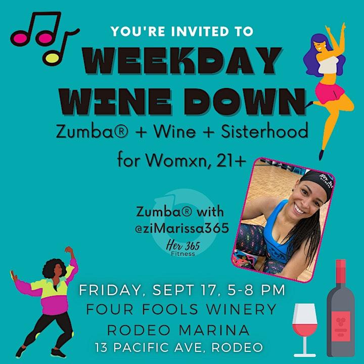Zumba® + Wine + Sisterhood image