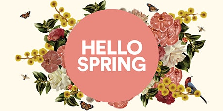 Hello Spring Workshop- Floral Hoop Embroidery tickets