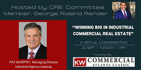 WINNING BIG IN INDUSTRIAL/COMMERCIAL REAL ESTATE W/ PAT MURPHY tickets