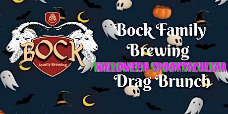 Bock Family Brewing HALLOWEEN SPOOKTACULIAR Drag Brunch tickets