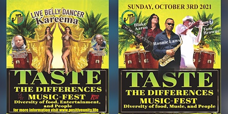 Taste The Differences Music Fest tickets
