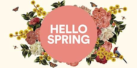 Hello Spring Workshop - Spring Salads tickets