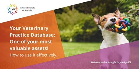 Your Veterinary Practice Database: One of your most valuable assets! tickets