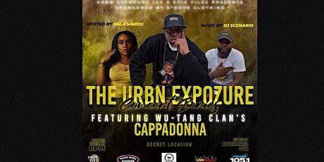 the  Urbn Expozure Concert Series Presents Wu-Tang's Cappadonna tickets