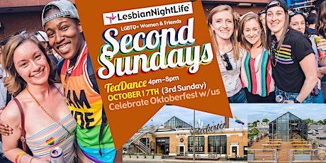 LesbianNightLife - Second (or Third) Sundays TeaDance tickets