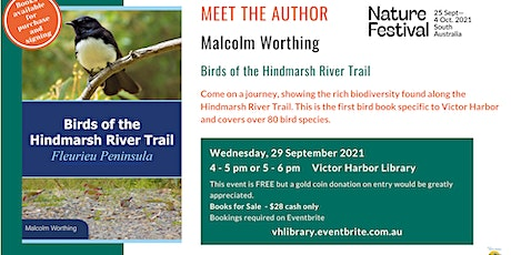 Meet the Author: Malcolm Worthing as part of the Nature Festival  Session 1 tickets