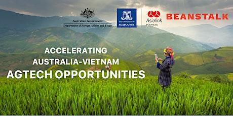 Accelerating Australia-Vietnam AgTech Opportunities tickets