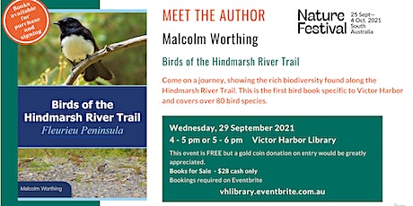 Meet the Author: Malcolm Worthing as part of the Nature Festival Session 2 tickets