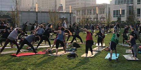 Yoga in the park by YogaSix @ Ivy Station, Culver City tickets