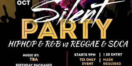 FireLounge DD HipHop & RnB vs Reggae & Soca Silent Party tickets