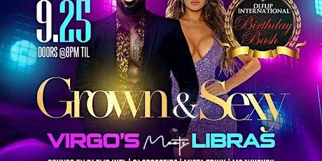 Grown & Sexy Affair, Virgo's Meet Libra's tickets