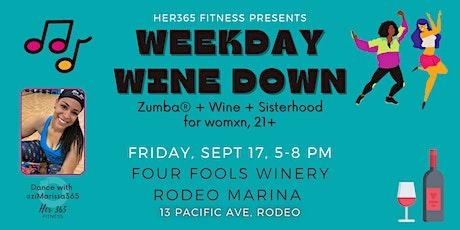 Zumba® + Wine + Sisterhood tickets