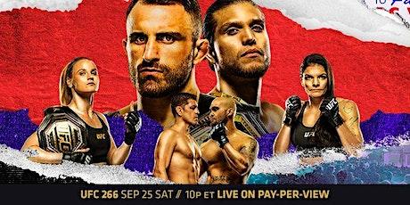 UFC 266 Volkanovski vs. Ortega tickets