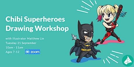 Chibi Superheroes Drawing Workshop tickets