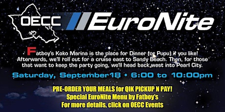 EuroNite Cruise to Fatboys tickets