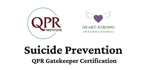 Suicide Prevention - QPR Gatekeeper Certification tickets