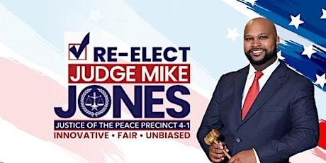 Block walk with Judge Mike Jones tickets